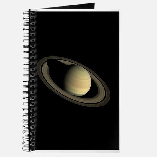Saturn Portrait by Cassini Journal