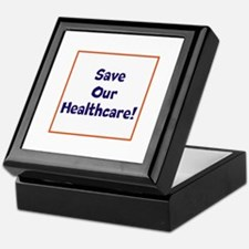 Save our healthcare Keepsake Box