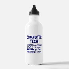 COMPUTER TECH Water Bottle