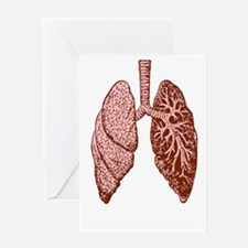LUNGS Greeting Cards