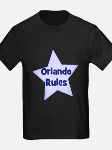Orlando Rules Ash Grey T-Shirt