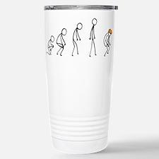 Evolution of Man - Trump Travel Mug