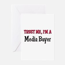 Trust Me I'm a Media Buyer Greeting Cards (Pk of 1