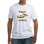 Bagel Addict Fitted T-Shirt