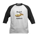 Bagel Addict Kids Baseball Jersey