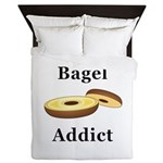 Bagel Addict Queen Duvet