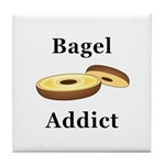 Bagel Addict Tile Coaster