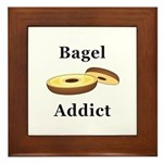 Bagel Addict Framed Tile