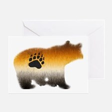 BEAR PRIDE FURRY BEAR 2/WOOF Greeting Card