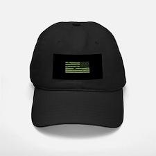 Weathered Reverse U.S. Flag (Green) Baseball Hat