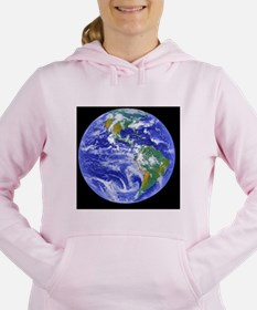 Cute Astronaut Women's Hooded Sweatshirt