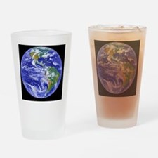 Cute Satellite Drinking Glass