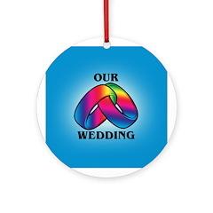 OUR WEDDING Keepsake (Round)