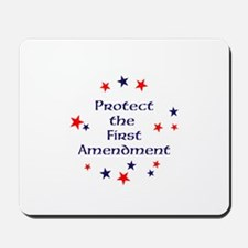 Protect the First Amendment Mousepad