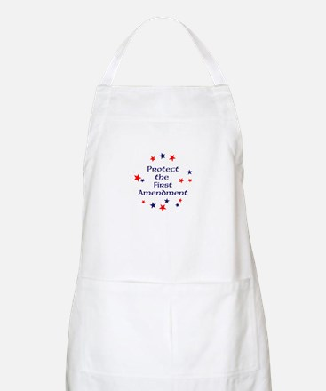 Protect the First Amendment Apron