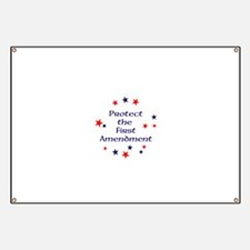 Protect the First Amendment Banner
