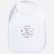 Protect the First Amendment Baby Bib