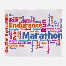 Marathon Womens.png Throw Blanket