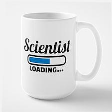 Scientist loading Mugs