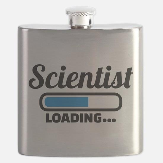 Scientist loading Flask