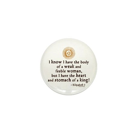 Elizabeth Tilbury Quote Mini Button