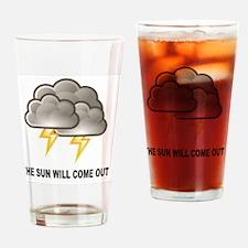 Unique Lightning strikes Drinking Glass