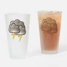 Funny Lightning strikes Drinking Glass