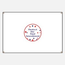 America,Protect the First Amendment, Banner
