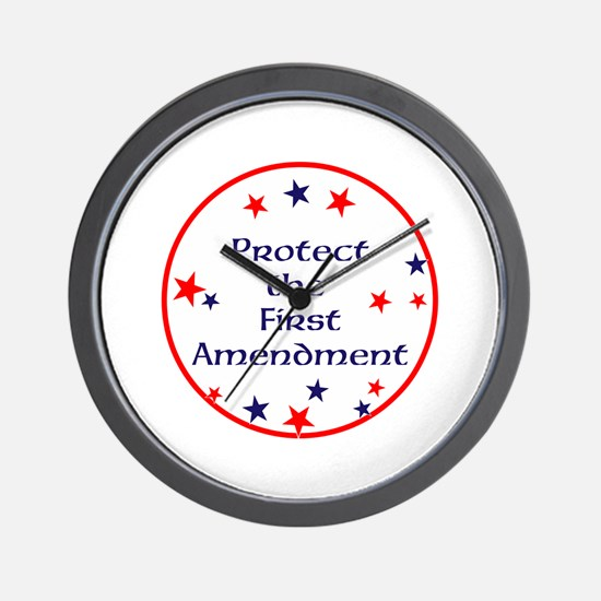 America,Protect the First Amendment, Wall Clock