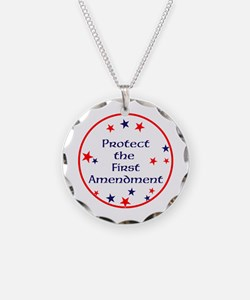 America,Protect the First Amendment, Necklace