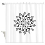 Beer hops Shower Curtains