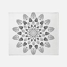 Hop Mandala Throw Blanket