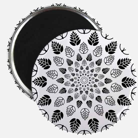 Hop Mandala Magnets