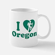 Love Hiking Oregon Mug