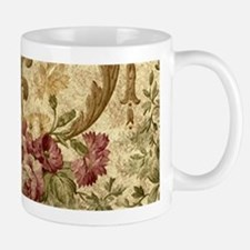 Old Fashioned Flower Design Mugs
