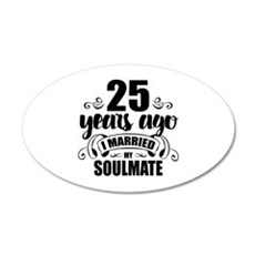 25th Anniversary Wall Decal