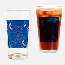 Faith trust pixie dust Drinking Glass