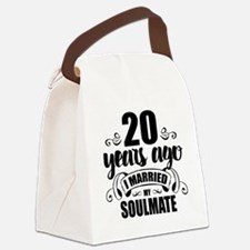 20th Anniversary Canvas Lunch Bag