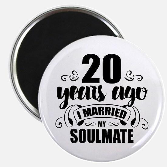 20th Anniversary Magnet