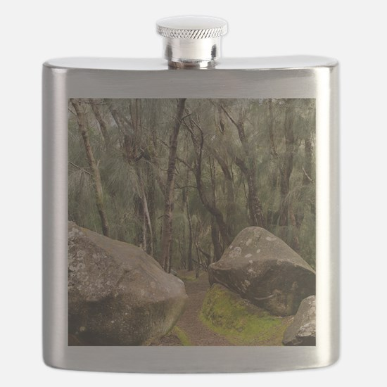 Palaau State Park Molokai Flask