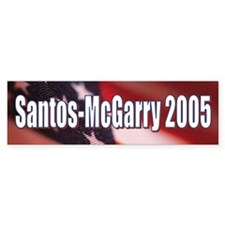 Santos-McGarry 2005 Bumpersticker