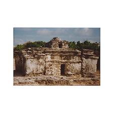 San Gervasio Mayan Ruins Rectangle Magnet