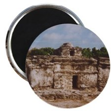 San Gervasio Mayan Ruins Magnet