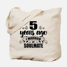 5th Anniversary Tote Bag