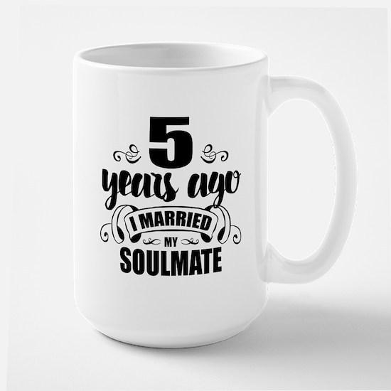 5th Anniversary Large Mug