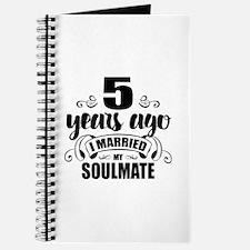 5th Anniversary Journal