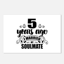 5th Anniversary Postcards (Package of 8)