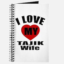 I Love My Tajik Wife Journal