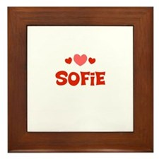Sofie Framed Tile