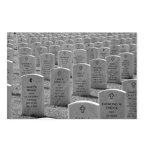 Arlington Cemetery B&W Postcards (Package of 8)